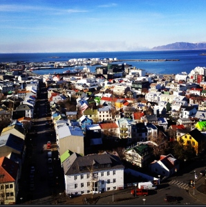 Reykjavik from on high
